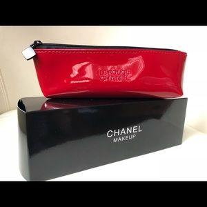 Chanel La Rouge Red Makeup Case